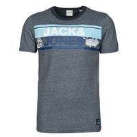 vaatteet Miehet Lyhythihainen t-paita Jack & Jones JCONICCO Laivastonsininen