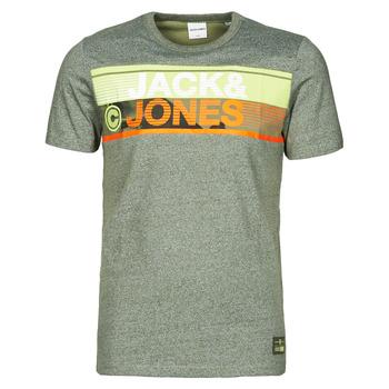 vaatteet Miehet Lyhythihainen t-paita Jack & Jones JCONICCO Khaki