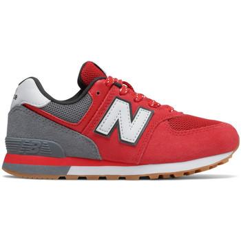 kengät Lapset Matalavartiset tennarit New Balance Pc574 m Punainen