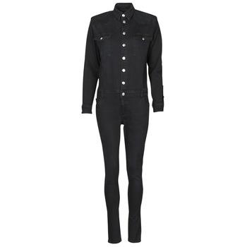 vaatteet Naiset Jumpsuits / Haalarit Betty London OPANTS Musta