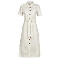 vaatteet Naiset Pitkä mekko Betty London ODRESS Vaalea