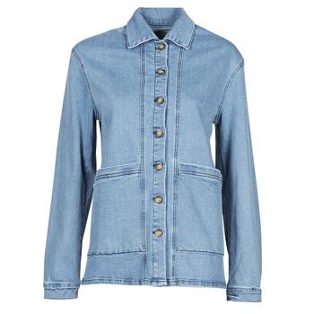 vaatteet Naiset Farkkutakki Betty London OVEST Sininen