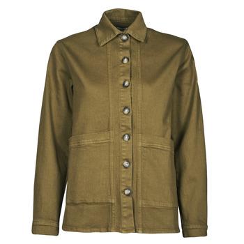 vaatteet Naiset Farkkutakki Betty London OVEST Khaki