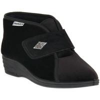 kengät Naiset Tossut Emanuela 536 NERO PANTOFOLA Nero