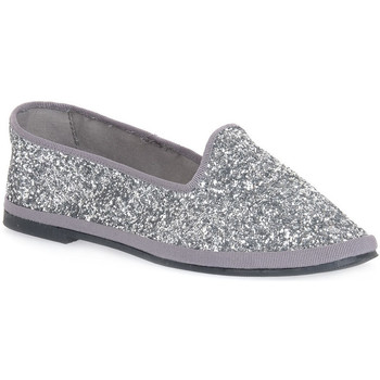 kengät Naiset Balleriinat Priv Lab GLITTER ARGENTO Grigio