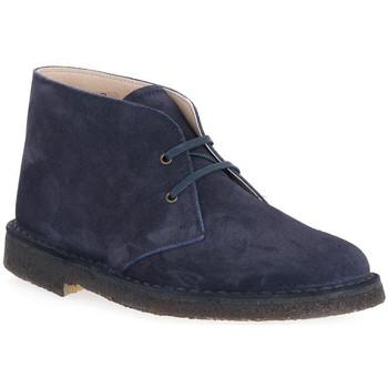 kengät Miehet Bootsit Isle BLU DESERT BOOT Blu