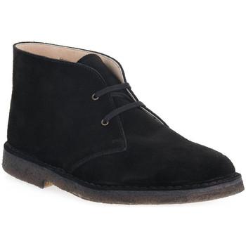 kengät Miehet Bootsit Isle NERO DESERT BOOT Nero