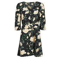 vaatteet Naiset Lyhyt mekko Only ONLEVE 3/4 SLEEVE SHORT DRESS WVN Musta