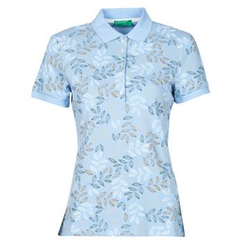 vaatteet Naiset Lyhythihainen poolopaita Benetton CHOLU Sininen