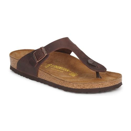 kengät Naiset Varvassandaalit Birkenstock GIZEH PREMIUM Brown