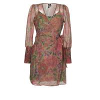 vaatteet Naiset Lyhyt mekko Vero Moda VMABELIA Green / Punainen