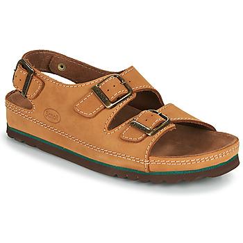 kengät Miehet Sandaalit ja avokkaat Scholl AIRBAG BACK STRAP Ruskea