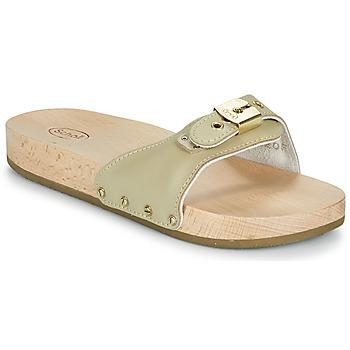 kengät Naiset Sandaalit Scholl PESCURA FLAT Beige