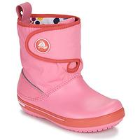 kengät Lapset Talvisaappaat Crocs CROCBAND ll.5 GUST BOOT KIDS PLEM PPY Vaaleanpunainen