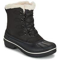 kengät Naiset Bootsit Crocs ALL CAST II BOOT W Musta