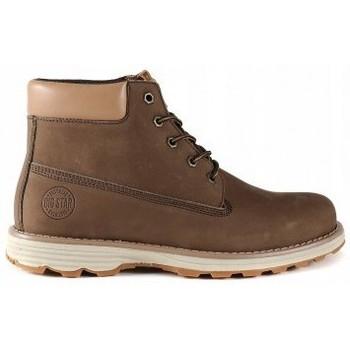 kengät Miehet Bootsit Big Star EE174229 Ruskeat