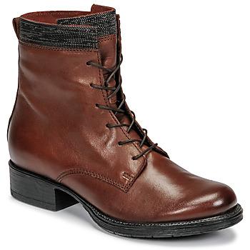 kengät Naiset Bootsit Mjus NORTON Ruskea