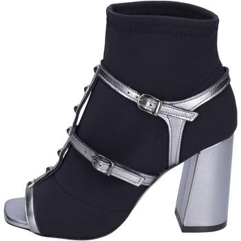 kengät Naiset Nilkkurit Stephen Good Stivaletti Tessuto Pelle Nero