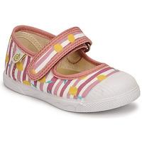 kengät Tytöt Balleriinat Citrouille et Compagnie APSUT Vaaleanpunainen / Kuvioitu