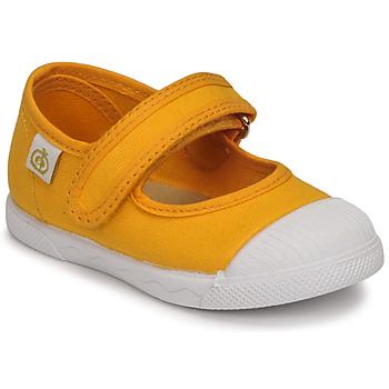 kengät Tytöt Balleriinat Citrouille et Compagnie APSUT Keltainen