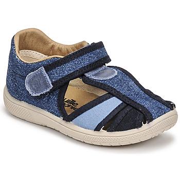 kengät Lapset Sandaalit ja avokkaat Citrouille et Compagnie GUNCAL Sininen / Farkku