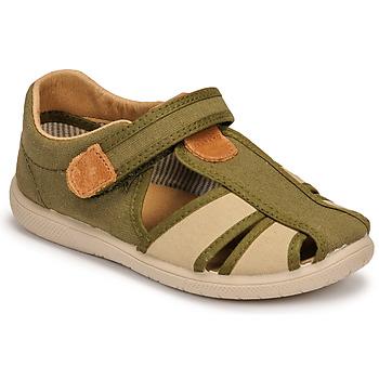 kengät Pojat Sandaalit ja avokkaat Citrouille et Compagnie GUNCAL Khaki