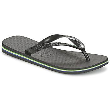 kengät Varvassandaalit Havaianas BRASIL Black