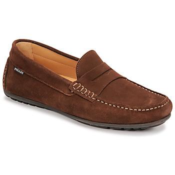 kengät Miehet Mokkasiinit Pellet Cador Ruskea