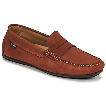 kengät Miehet Mokkasiinit Pellet Cador Punainen