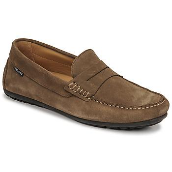 kengät Miehet Mokkasiinit Pellet Cador Taupe