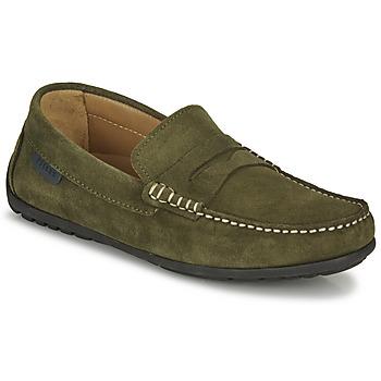 kengät Miehet Mokkasiinit Pellet Cador Khaki
