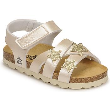 kengät Tytöt Sandaalit ja avokkaat Citrouille et Compagnie OKILIA Kulta