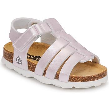 kengät Tytöt Sandaalit ja avokkaat Citrouille et Compagnie MALIA Champagne