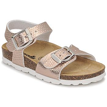 kengät Tytöt Sandaalit ja avokkaat Citrouille et Compagnie RELUNE Pronssi