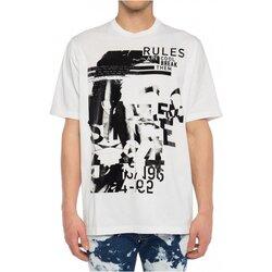 vaatteet Miehet Lyhythihainen t-paita Dsquared S74GD0530 White