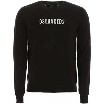 vaatteet Miehet Neulepusero Dsquared S71HA0916 Black