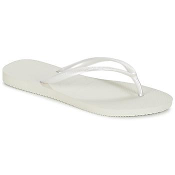 kengät Naiset Varvassandaalit Havaianas SLIM White