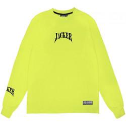 vaatteet Miehet T-paidat pitkillä hihoilla Jacker Corpo Vihreä