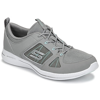 kengät Naiset Fitness / Training Skechers CITY PRO - WITHOUT A CARE Grey