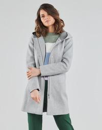 vaatteet Naiset Paksu takki Only ONLSIRI Harmaa