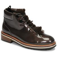 kengät Naiset Bootsit JB Martin BRILLE H19 Cacao