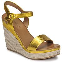 kengät Naiset Sandaalit ja avokkaat JB Martin LIVE E19 Yellow