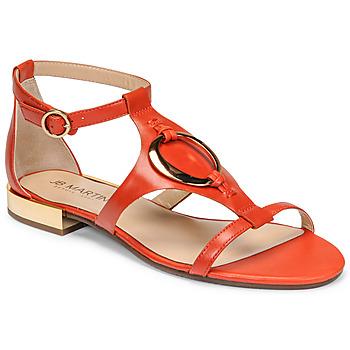 kengät Naiset Sandaalit ja avokkaat JB Martin BOCCIA Oranssi