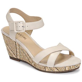kengät Naiset Sandaalit ja avokkaat JB Martin QUERIDA E20 Beige