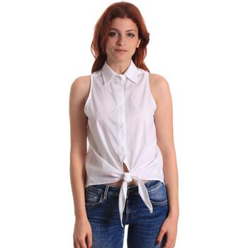 vaatteet Naiset Topit / Puserot Fornarina BE174573CA1609 Valkoinen