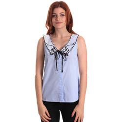 vaatteet Naiset Topit / Puserot Fornarina SE174576CA1218 Sininen
