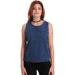 vaatteet Naiset Topit / Puserot Fornarina SE175J70D883SK Sininen