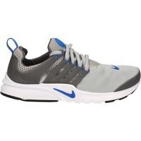 kengät Lapset Matalavartiset tennarit Nike 833875 Harmaa