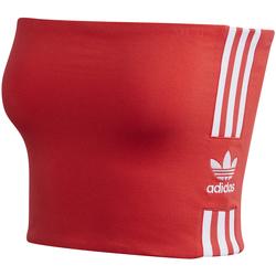 vaatteet Naiset Topit / Puserot adidas Originals FM9866 Punainen