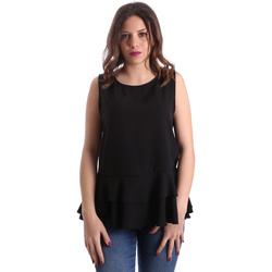 vaatteet Naiset Topit / Puserot Gaudi 911FD45048 Musta